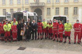 Un'ambulanza speciale per persone obese e altri due nuovi mezzi per la Croce Rossa Alessandria