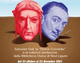 "Dal 23 ottobre al 23 dicembre la mostra ""DanteDalì"" in Biblioteca a Novi Ligure"