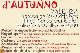 Domenica 24 ottobre Festa d'Autunno a Valenza