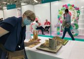 L'architetto diventata pasticciera vince l'Italy International Cake Show con la boutique Borsalino in pastafrolla
