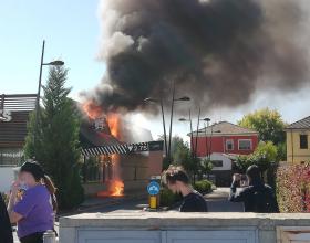 La ricostruzione dell'incendio al McDonald's di via Giordano Bruno