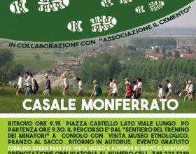 Domenica 10 ottobre il cammino lungo il sentiero dei minatori del Monferrato