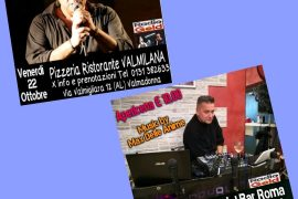 Musica e divertimento con Max delle Anime a Valmadonna e Casal Cermelli