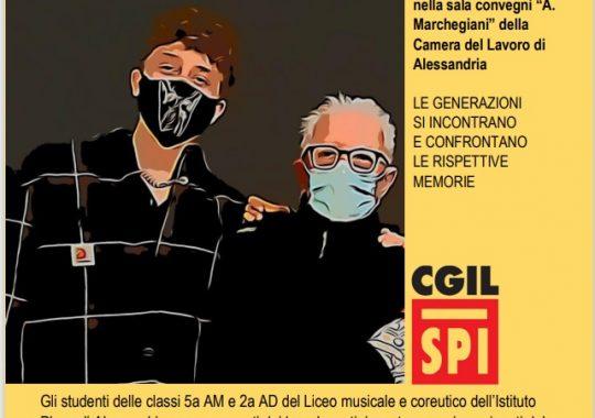 """Il 27 ottobre in Cgil le """"Memorie del Covid"""" di studenti e pensionati"""
