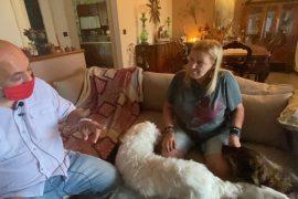 Non Abbandonarmi: la storia di Paola, del suo gatto e dei tre cani, adottati a Cascina Rosa