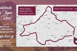 Il 23 e 24 ottobre si pedala tra i paesaggi vitivinicoli di Langhe-Roero e Monferrato
