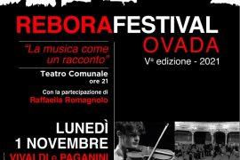 Rebora Festival: il 1°novembre la musica di Vivaldi e Paganini al Teatro Comunale di Ovada