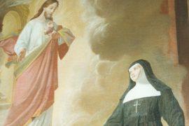 Il santo del giorno del 17 ottobre è Santa Margherita Maria Alacoque