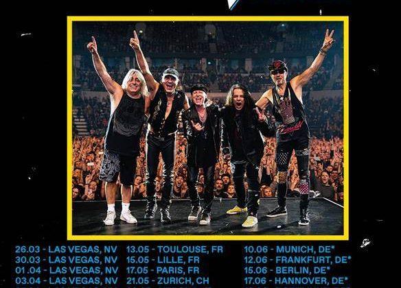 Scorpions: un nuovo album e un tour mondiale con una data in Italia