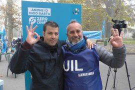 Uil Tour ad Alessandria contro le morti sul lavoro e per un confronto diretto e virtuale coi cittadini