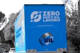 Uil incontra i cittadini: sabato ad Alessandria il camion azzurro contro le morti sul lavoro