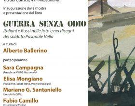 """Dal 22 al 29 ottobre foto e disegni di Pasquale Vella raccontano una """"Guerra senza odio"""""""