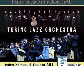 Al Teatro Sociale di Valenza arriva la Torino Jazz Orchestra